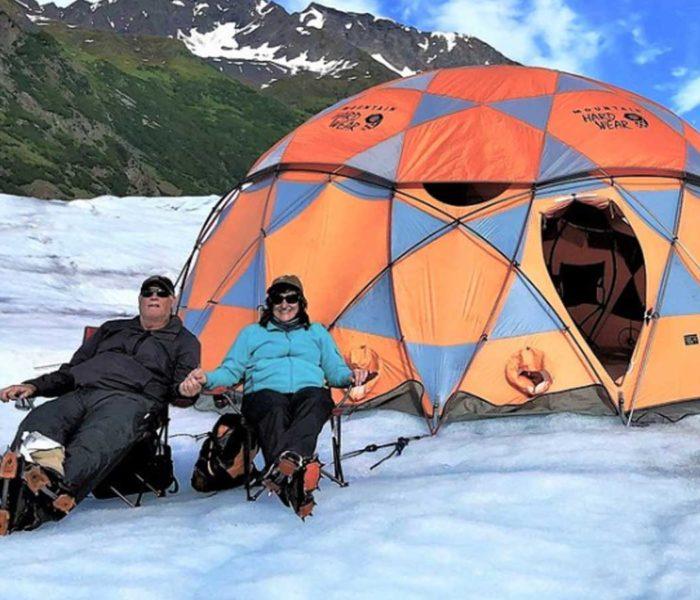 Alaska Glacier Camping Adventure
