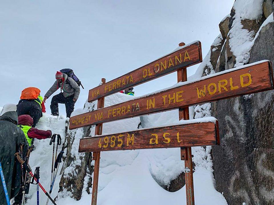 Mt. Kenya Climb for Uweza