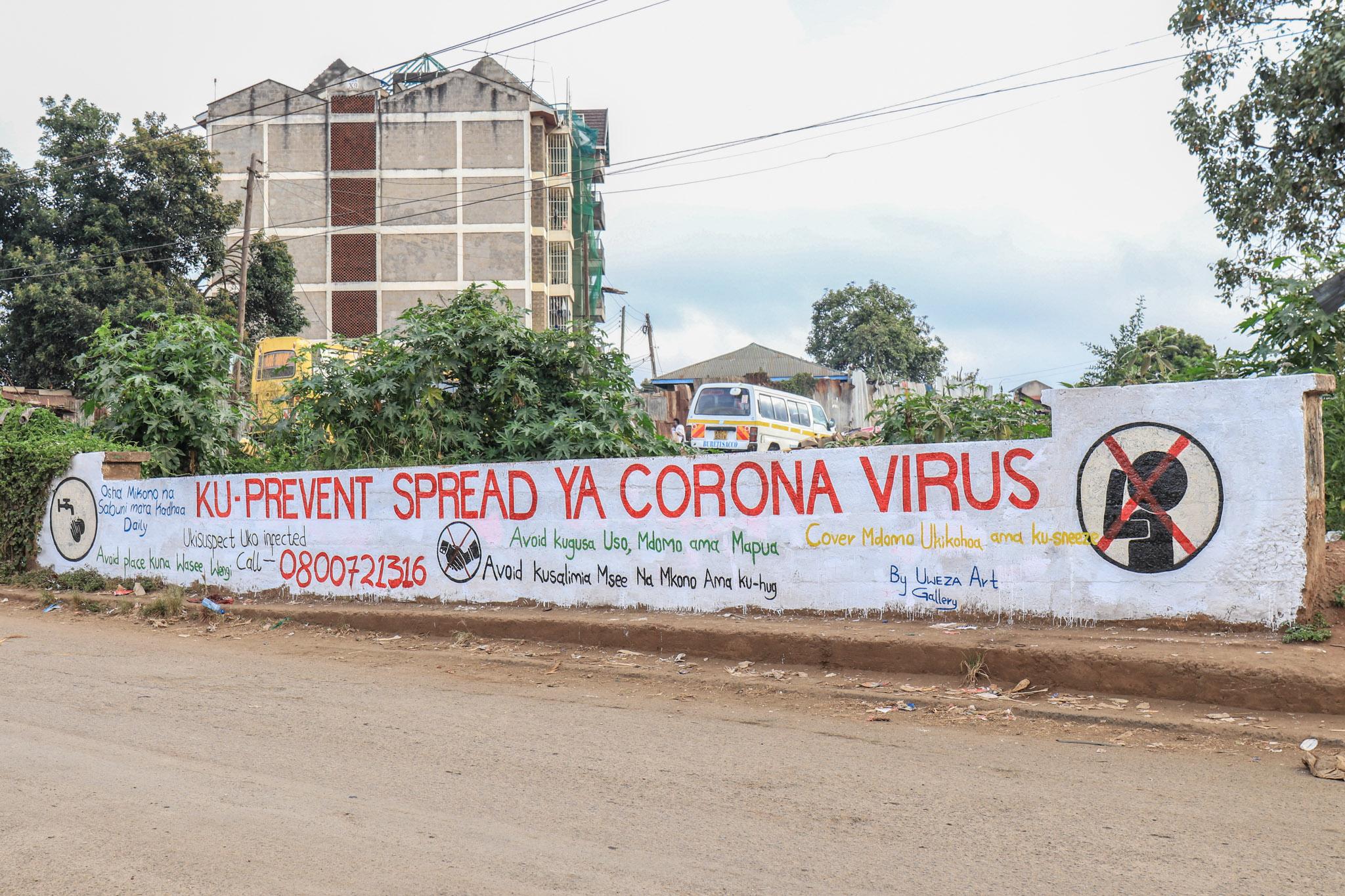 COVID-19: Protecting Kibera