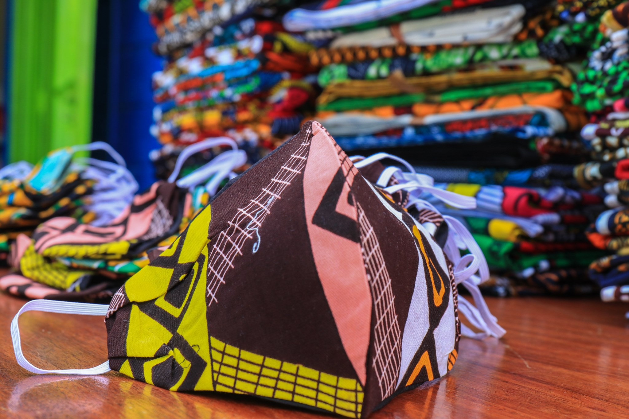 Free 5,000 Masks To Kibera Residents