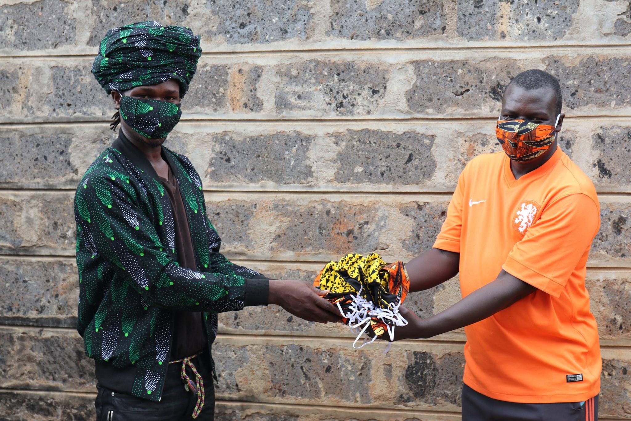 Kibera Masked Footballers