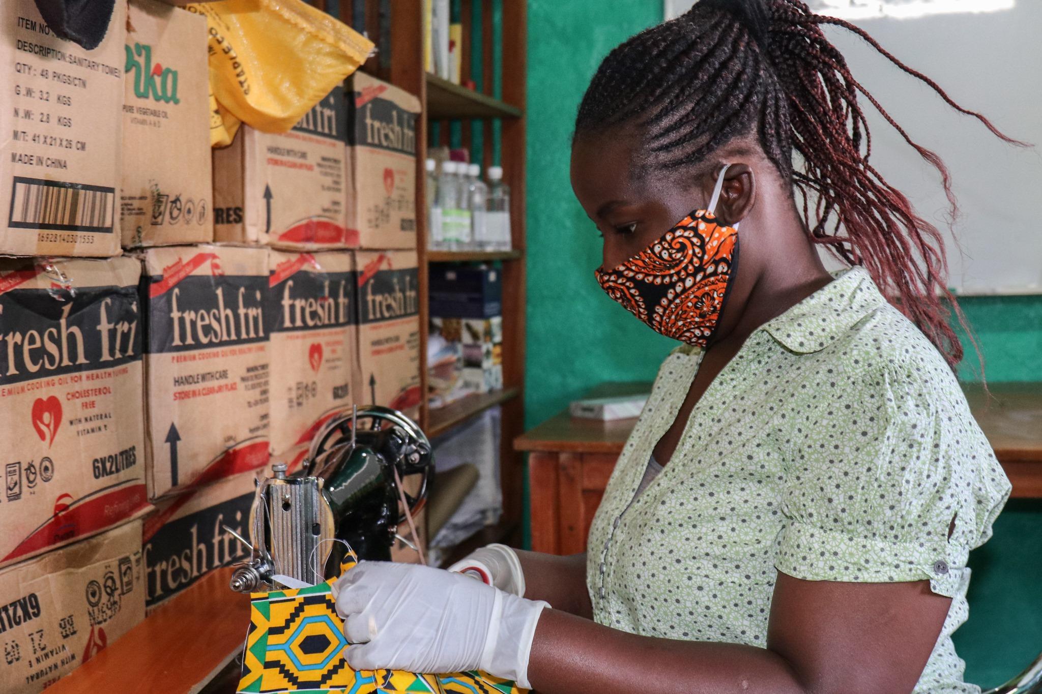 Protecting Kibera through Mask Distribution