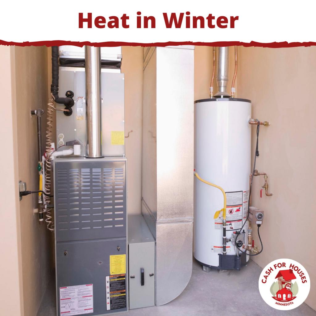 Heat in Winter is necessary in MN.