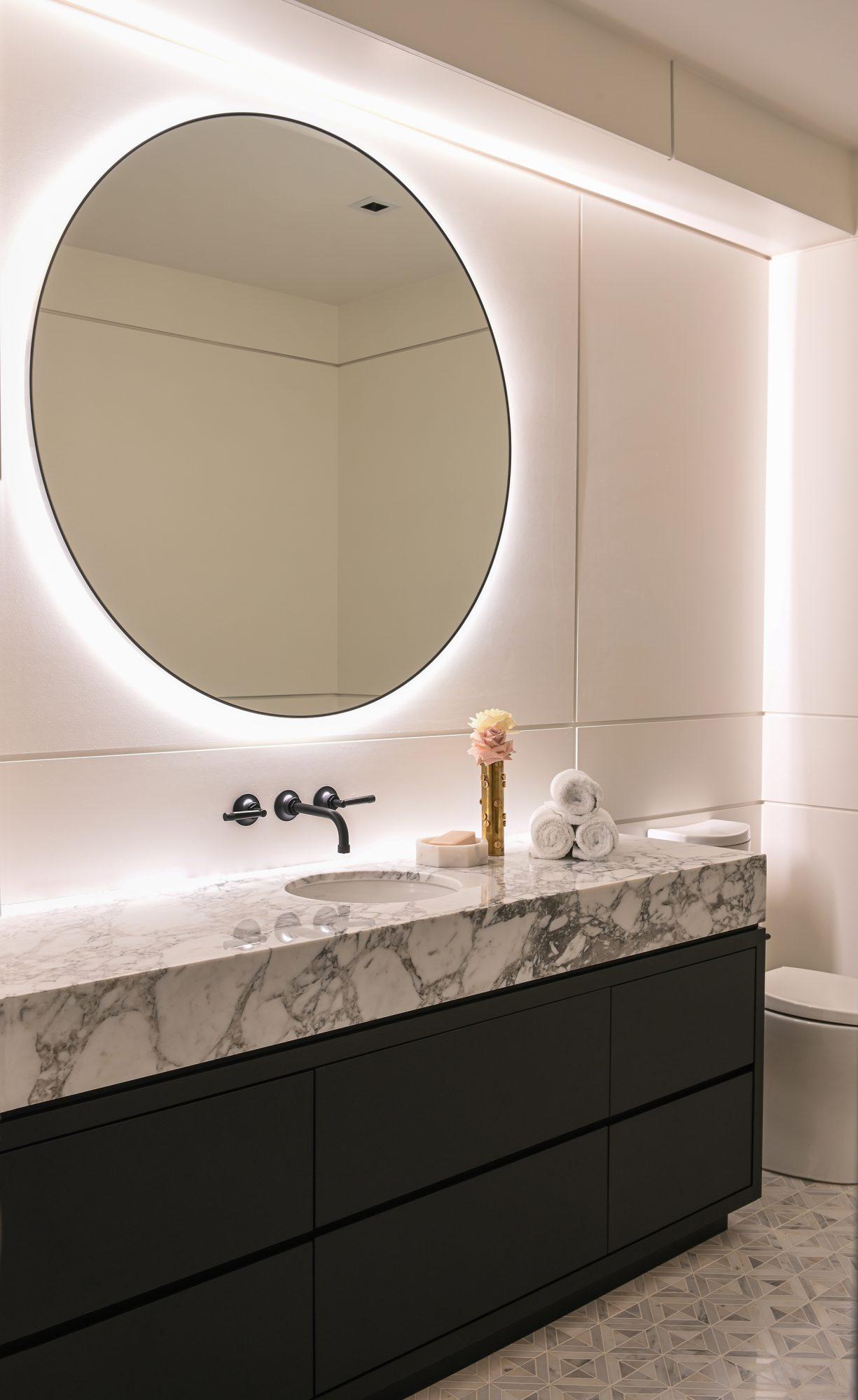 Ferme Moderne bathroom vanity built by Midland Premium Properties in Vancouver, BC