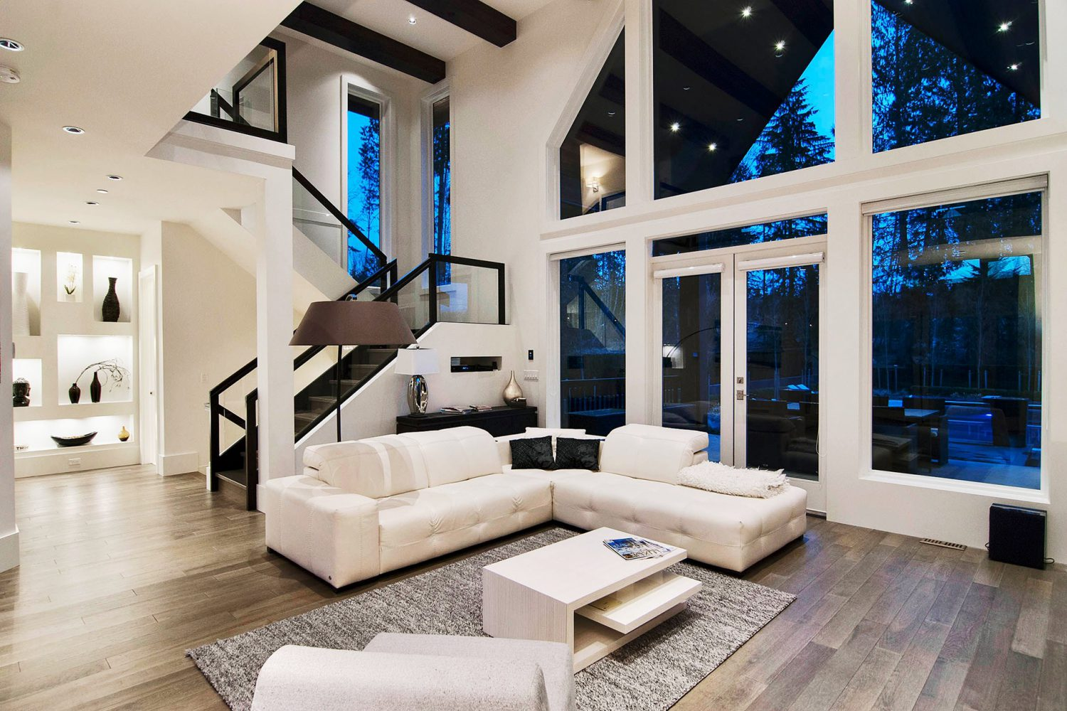 Forest project living room designed by Midland Premium Properties in Vancouver, BC