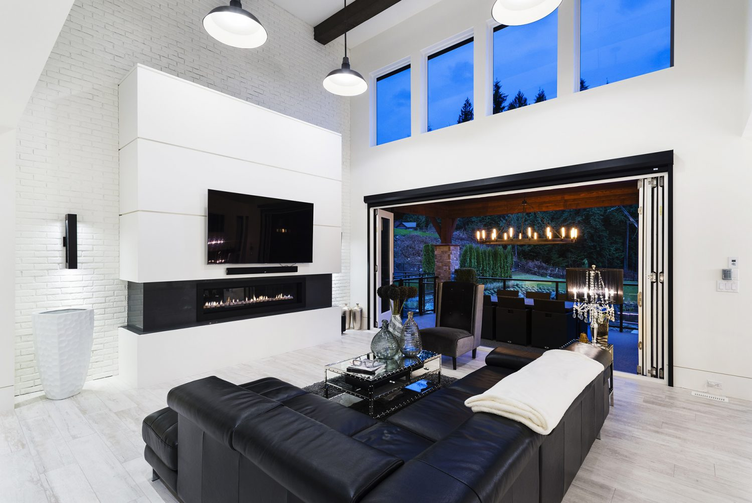 The Whisp custom designed living room by Midland Premium Properties in the Greater Vancouver area.