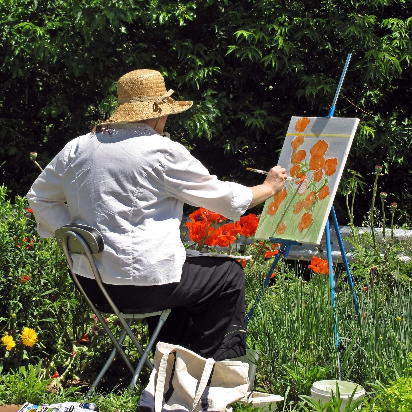 Flower Painter. Photo: Bob Yukich
