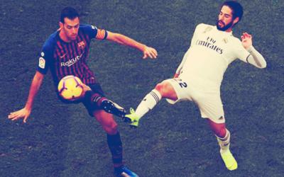 Clásico Liga España: FC Barcelona vs. Real Madrid