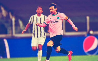 Messi vs Juventus con su tercer gol de penalti