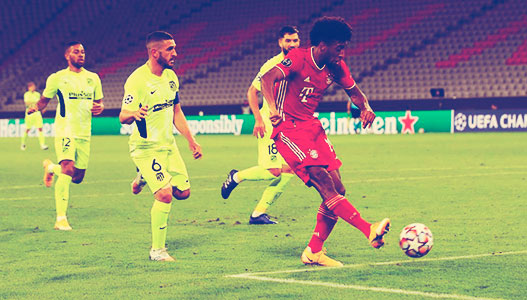 Atlético muy lejano del Bayern 4-0