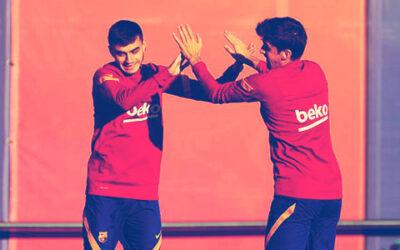 Los que pueden debutar con el Barça en Champions
