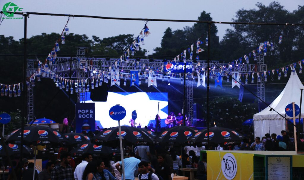 Branding at Festival