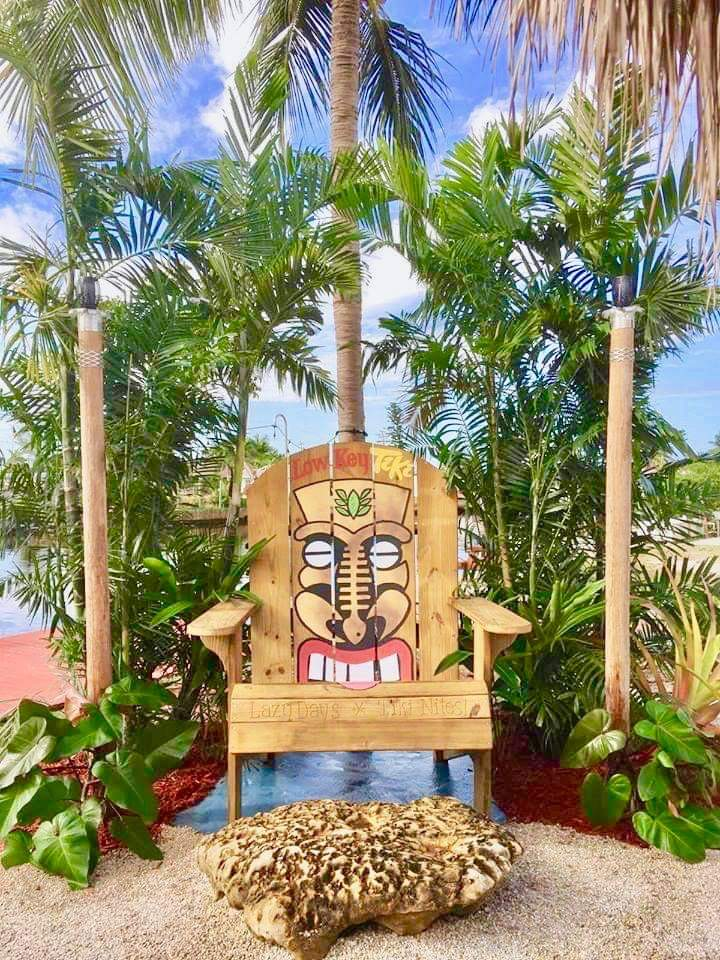 Low Key Tiki Chair