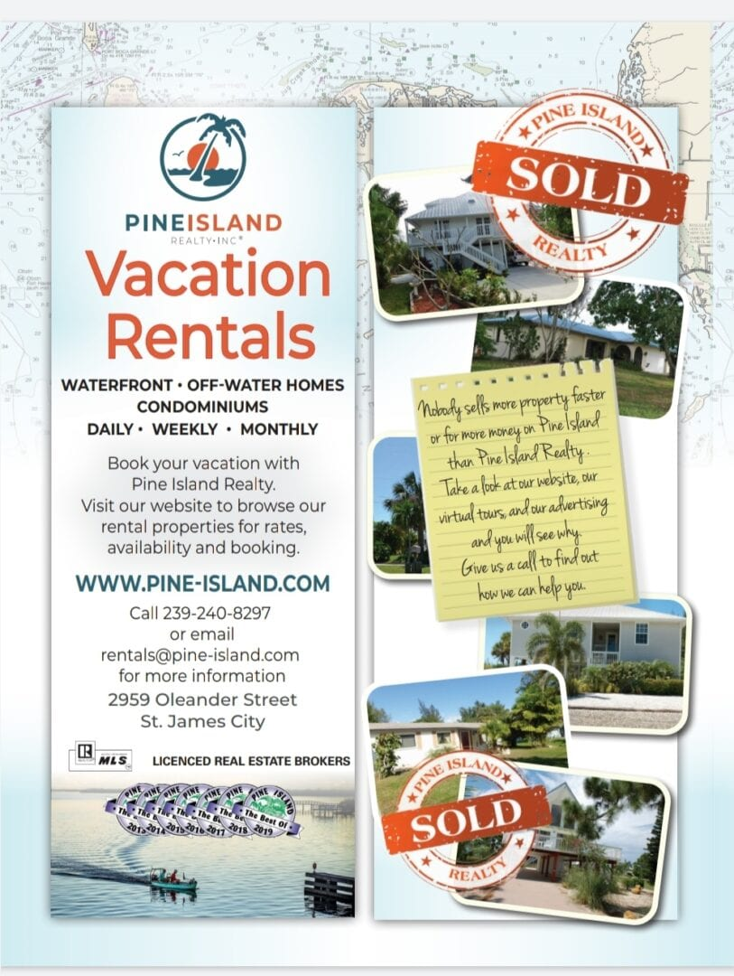 Pine Island Vacation Rentals Fall 2020