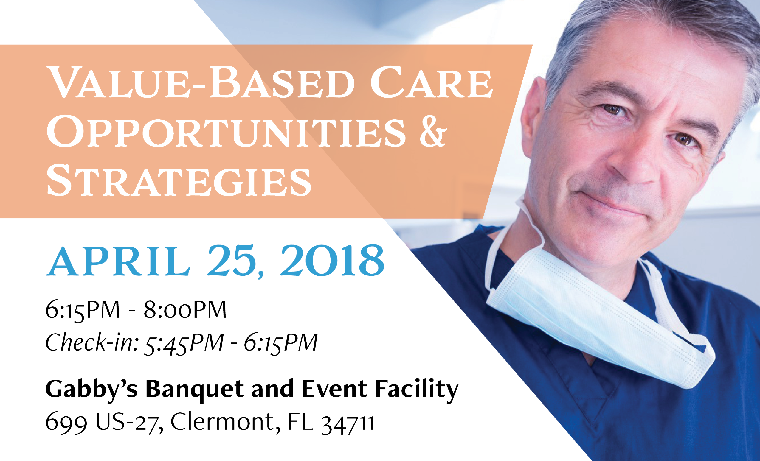 Value-Based Care Opportunities & Strategies: Apr 25, 2018