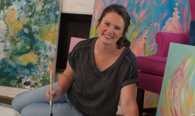 Ashley McCullars Moonlights with Watercolors in Hand