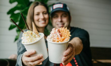 Meet Lucky Cat Rolled Creams' Hannah and Greg Slamen