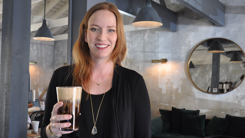 Meet the Face Behind Caveat Coffee