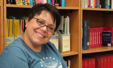 Meet Creative Writing Teacher Amy Marchino