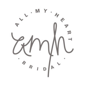 All My Heart Bridal Logo