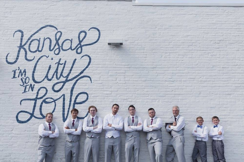 Groomsman Photo Kansas City