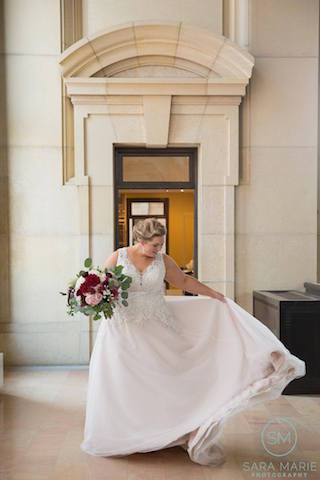 Bride at Union Station