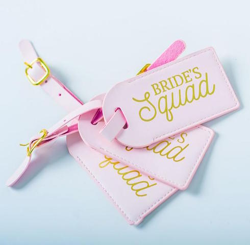 Bridal Party Luggage Tags