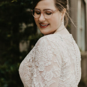 Bride in Allure Bridals 2716