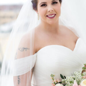 Bride at Kauffman Center