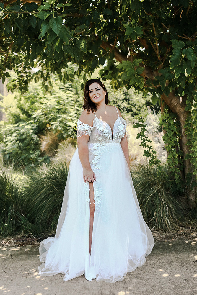 Holly Wedding Dress Studio Levana