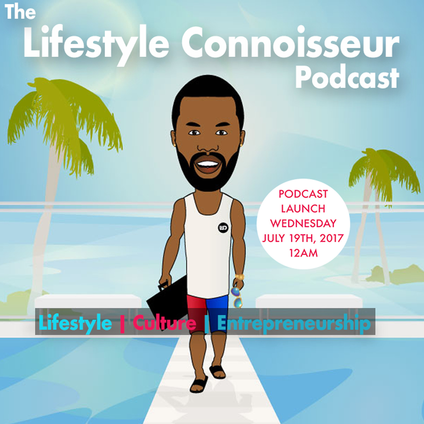 The Lifestyle Connoisseur Podcast hosted by Jean-Désir