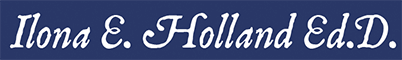 Ilona E. Holland Ed.D Children's Author logo