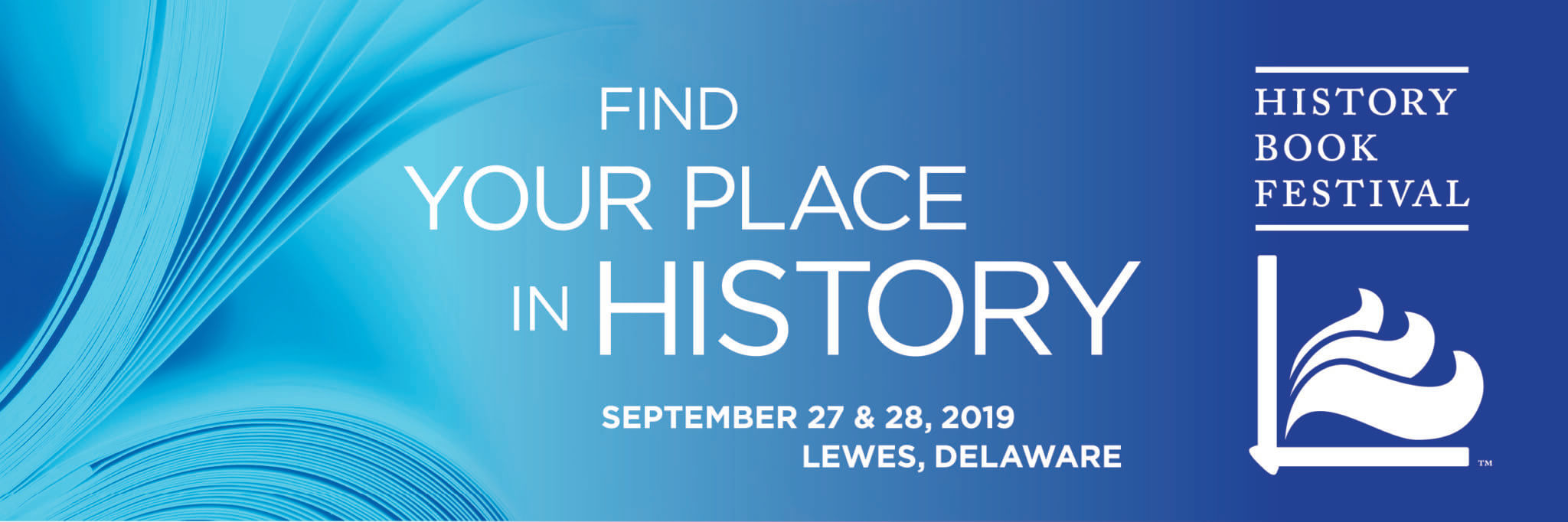 Lewes History Book Festival logo