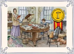 The Great Explosion received the first place award for Children's Fiction from the Delaware Press Association