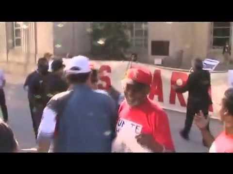 Tea Party Assault at rallu