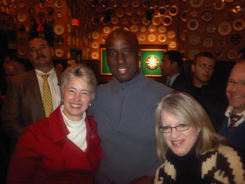 Egberto With Houston Mayor Annise Parker & City Council Rep Melissa Noriega