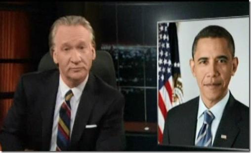 Bill Maher Pot President Obama Legalize