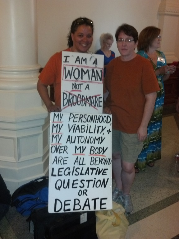 Live Update: Stand With Texas Women–Senate Vote (VIDEO)