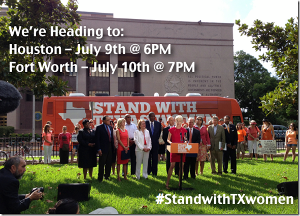 Stand With Texas Women Tour