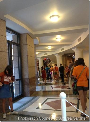 War On Women at Texas Capitol