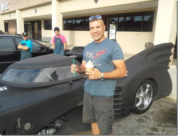 John Salazar, Batman, Bat Mobile