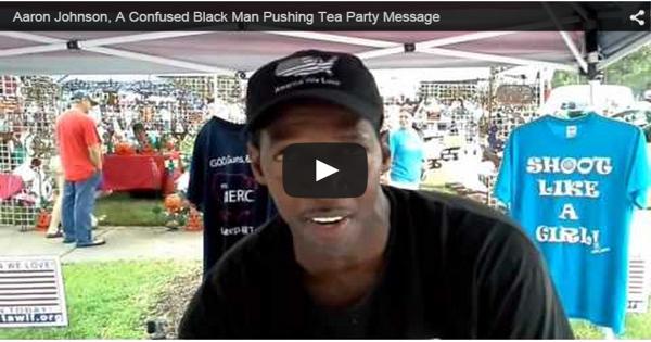 Black Tea Party Aaron Johnson