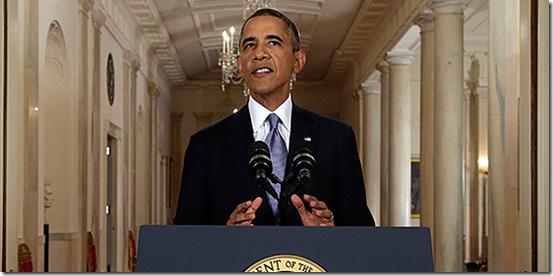 President Obama Address To Nation On Syria