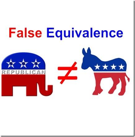 False Equivalencies
