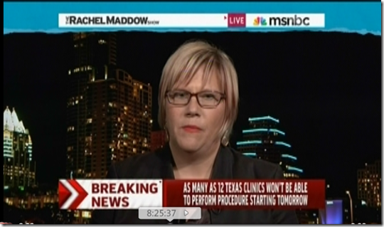 Rachel Maddow Amy Hagstrom Miller Abortion