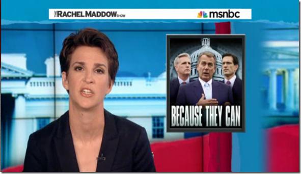 Rachel Maddow Government Shutdown