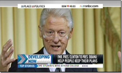 Bill Clinton Obamacare