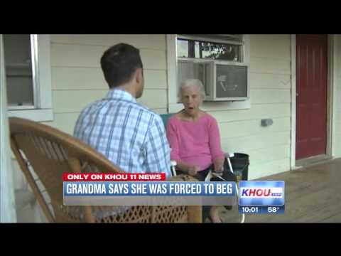 grandmother forced to bed