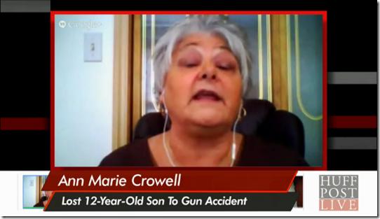 Gun Mother lost child