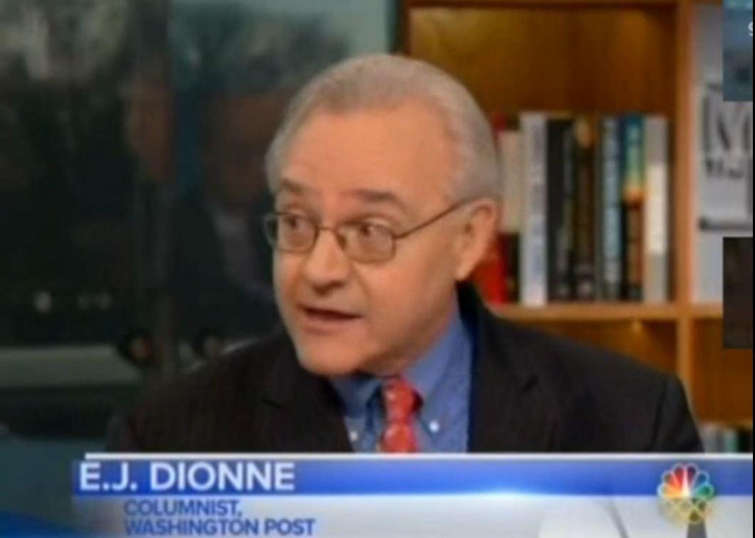 E. J. Dionne Obamacare